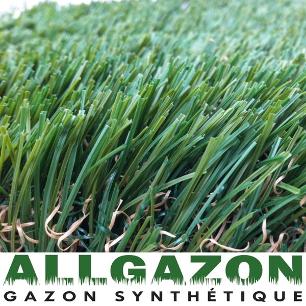 Gazon synthetique Green Satin 40mm