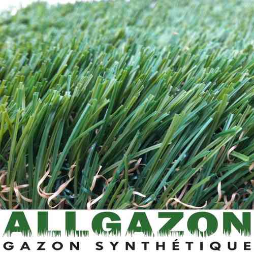 Artificial Landscaping grass GREEN SATIN