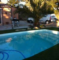Artificial grass in Bandol