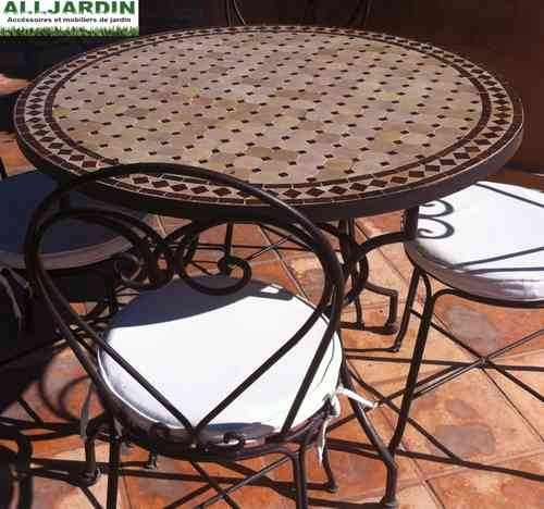 Iron Table for garden