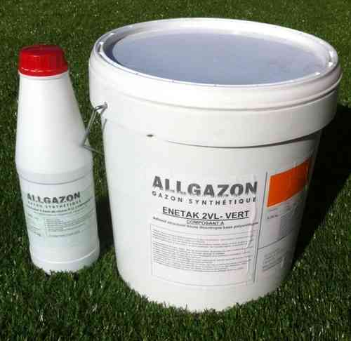 Artificial grass glue bi component 10,2kgs