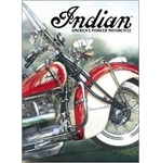 American Advertising Tin Sign - Vintage Wall Decor - Indian Motor