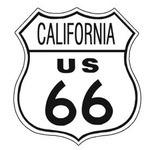 American Advertising Tin Sign - Vintage Wall Decor - Route 66 Tin Sign CALIFORNIA