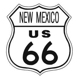 American Advertising Tin Sign - Vintage Wall Decor - Route 66 Tin Sign NEW MEXICO