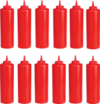 Lot de 12 distributeur de Ketchup 350 ml
