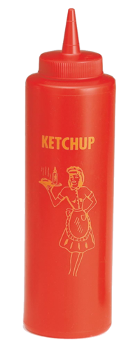 Ketchup Dispenser - Nostalgia 350 ml 1950's