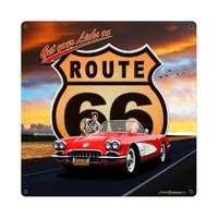 Plate & Tin Sign - Route 66