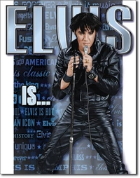 American Advertising Tin Sign - Vintage Wall Decor - Elvis