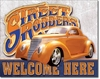 American Advertising Tin Sign - Vintage Wall Decor - Streets Rodders
