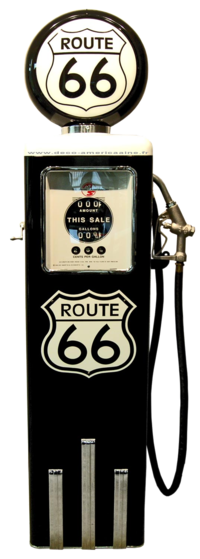 Reproduction American Gas Pump - Route 66