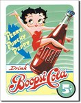 American Advertising Tin Sign - Vintage Wall Decor - Betty Boop