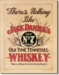 American Advertising Tin Sign - Vintage Wall Decor - Jack Daniel's Nothing Like