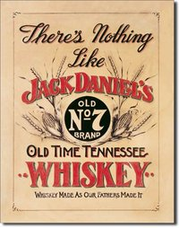 plaque de décoration américaine - Jack Daniel's Nothing Like