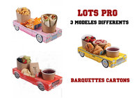 Kids Menu - Carton Cars & Trucks