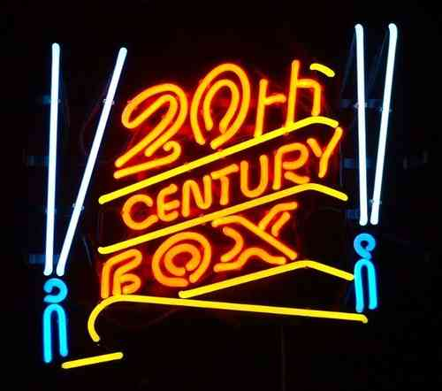 Neon Sign 20th CENTURY FOX