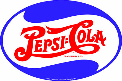 American Advertising Tin Sign - Vintage Wall Decor - Pepsi Oval Sign