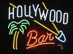 Neon Sign HOLLYWOOD BAR