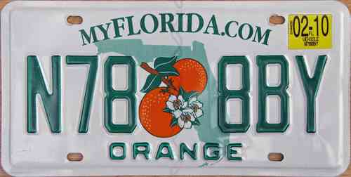 American Genuine Licence Plate - FLORIDE