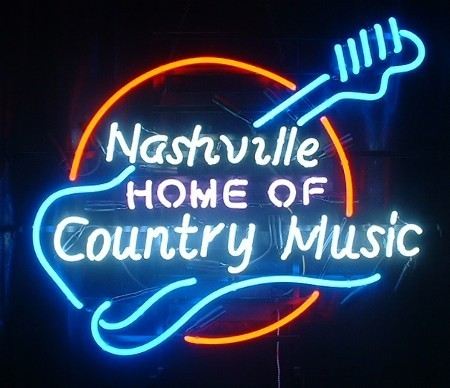 Neon Sign - NASHVILLE COUNTRY