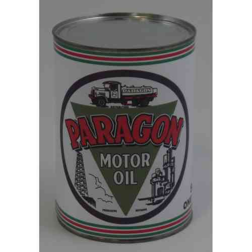 Oil Can PARAGON MOTOR OIL