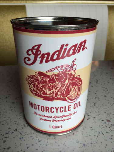 Oil Can INDIAN MOTORCYCLE OIL