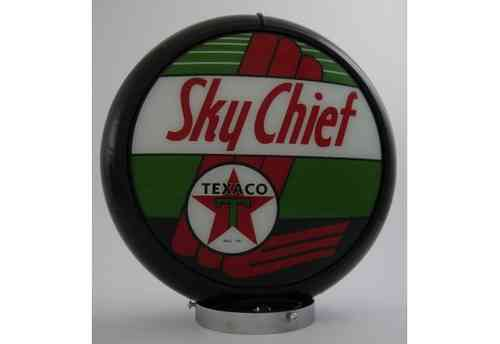 Globe de pompe à essence - Texaco Sky Chief