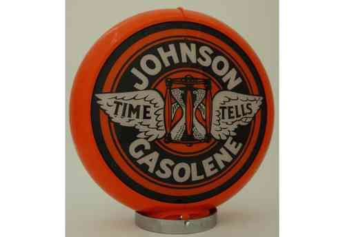 Globe de pompe à essence - Johnson Gasoline