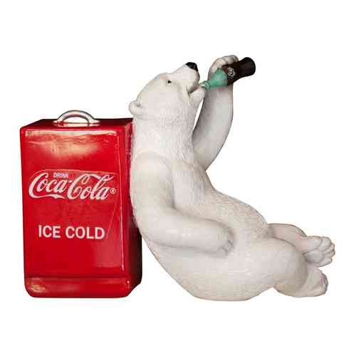 Coca-Cola Resin Polar Bear