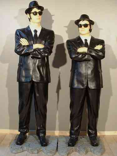 Statue BLUES BROTHERS