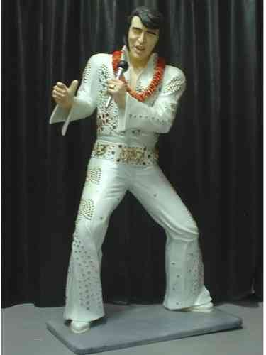 Statue Elvis Presley Hawaii 1973
