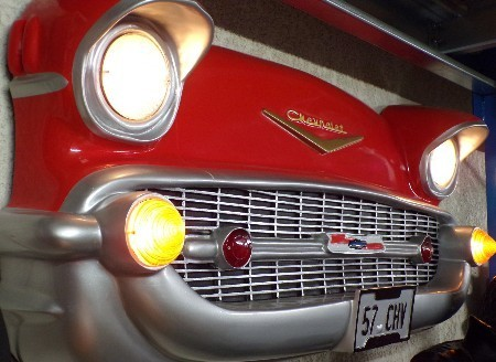 Calandre de Chevrolet Bel Air