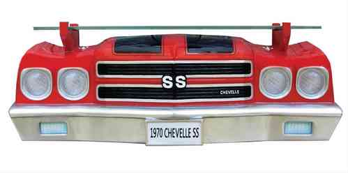 GM 1970 Chevrolet Chevelle SS Front Wall Shelf (w/lights)