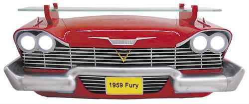 1959 Plymouth Fury (avec lumières) Front Wall Shelf (w/ lights)