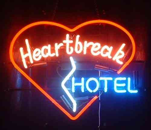 Neon Sign - HEARTBREAK HOTEL