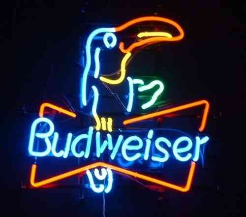 Neon Sign BUDWEISER TOUCAN