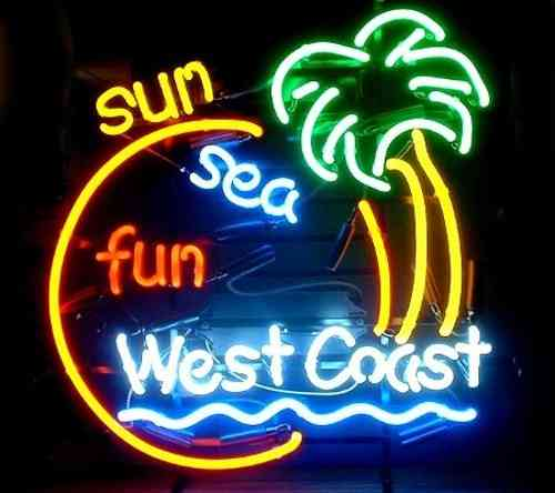 Neon Sign - WEST COAST
