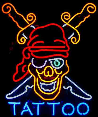 Neon Sign TATTOO