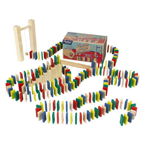TUMBLE DOWN DOMINOES