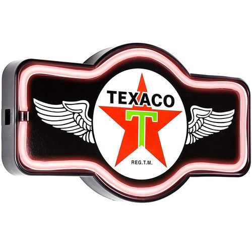 Led neon Sign Texaco Wings