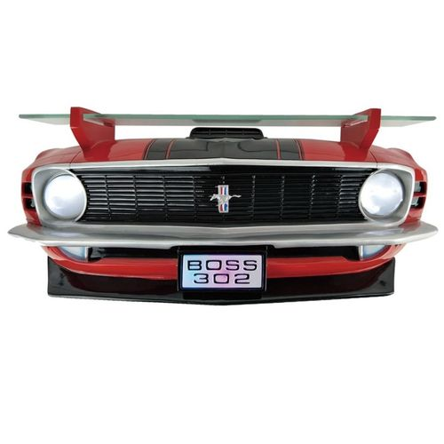 1970 FORD MUSTANG BOSS 302 Front Wall Shelf (w/lights)
