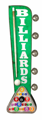 Billards Led Two-Sided sign
