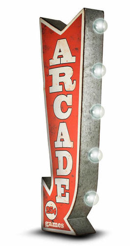 Arcade Led Two-Sided sign
