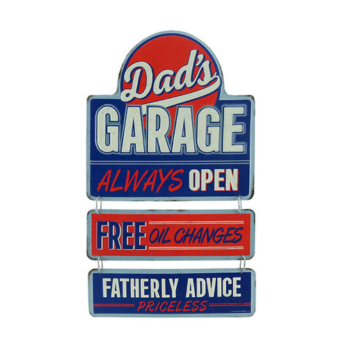 Plaque Dad's Garage