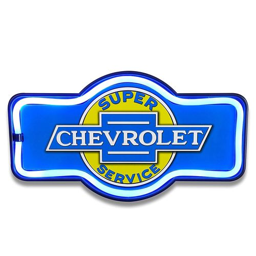 Led neon Sign Chevy Service