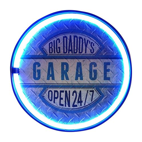 Led neon Sign Big Daddy's Garage