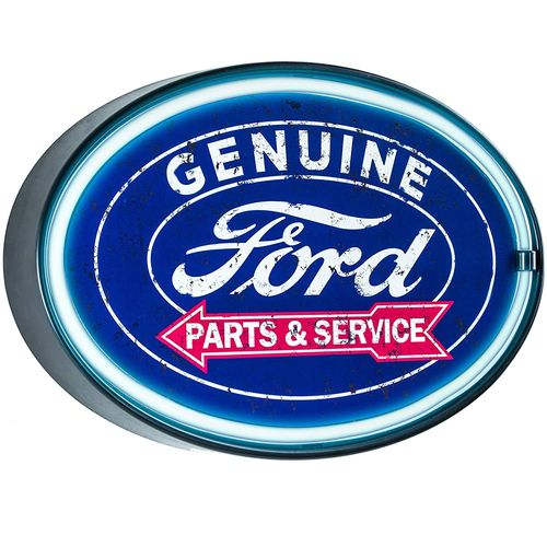 Led neon Sign Genuine Ford Parts