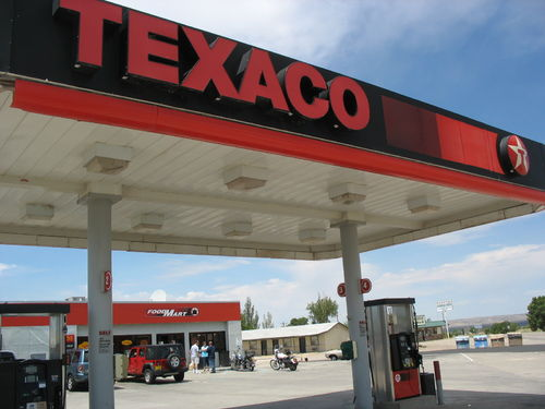 TEXACO Gas Station Letters