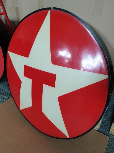 TEXACO Gas Station Stars Logo