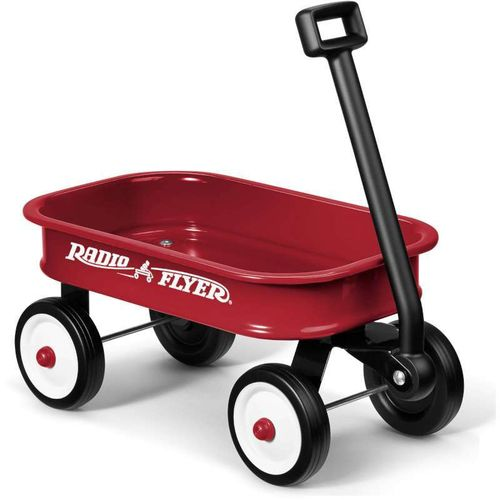 Little Red Radio Flyer Wagon